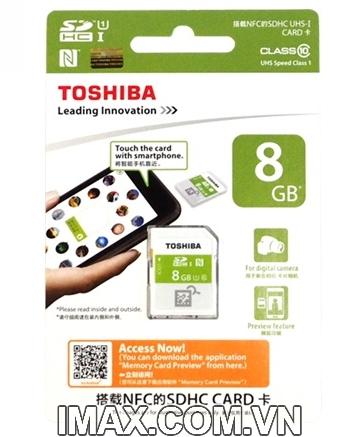 Thẻ nhớ SDHC Toshiba NFC 8GB Class 10 UHS-I
