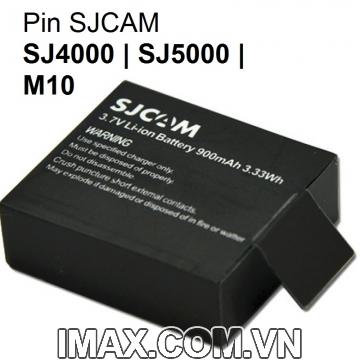 Pin sạc chính hãng cho Camera SJCAM SJ4000, SJ5000, M10