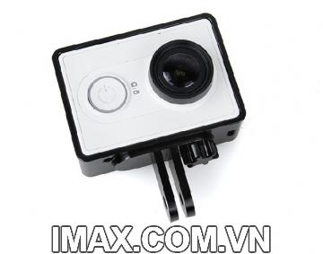 Khung viền kim loại Cho Camera Xiaomi, màu đen