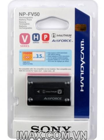Pin Sony NP-FV50, Dung lượng cao