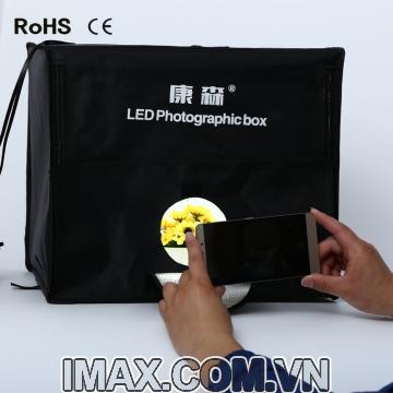Hộp chụp sản phẩm CiYa CY-50 có đèn LED (50x50cm)