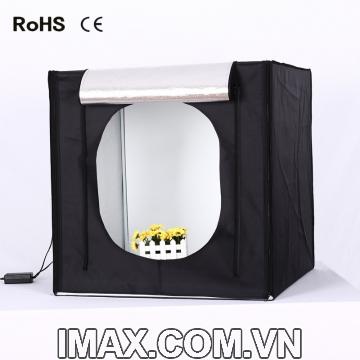 Hộp chụp sản phẩm CiYa CY-70 có đèn LED (70x70cm)