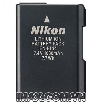Pin chính hãng Nikon EN-EL14 (Pin Zin theo máy)
