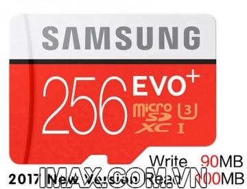 Thẻ nhớ Samsung Micro SDXC EVO Plus 256GB 100/90MB/s, New