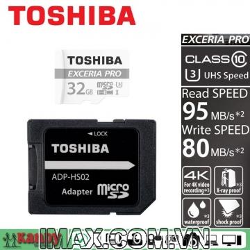 Thẻ nhớ Micro SDHC Toshiba 32GB 95/80MB/s