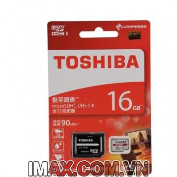 Thẻ nhớ Toshiba Exceria micro SDHC 16G 90MB/s