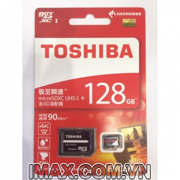 Thẻ nhớ Toshiba Exceria micro SDXC 128G 90MB/s