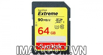 THẺ NHỚ SANDISK SDXC EXTREME 64GB 90MB/S