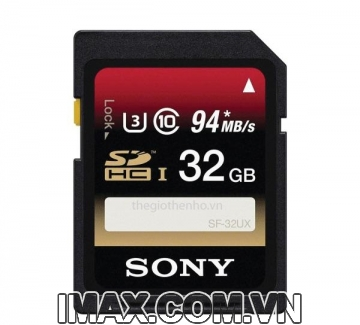 Thẻ nhớ Sony 32GB UHS-I SDHC (Speed Class 3) 94/70MB/s