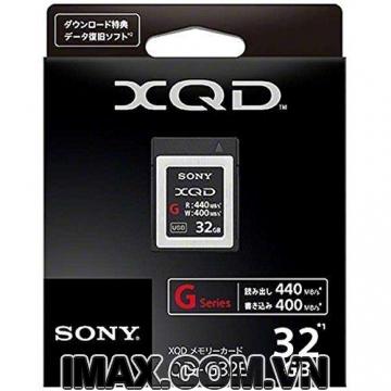 Thẻ nhớ XQD Sony 440/400 MB/s Dòng G 32GB