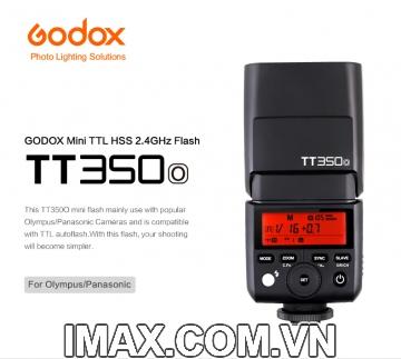 FLASH GODOX TT350O FOR OLYMPUS PANASONIC LEICA- HÀNG NHẬP KHẨU