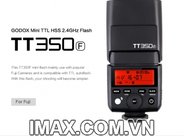 Flash Godox TT350F for Fujifilm -Hàng nhập khẩu