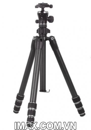 Tripod/ Chân máy ảnh Gizomos GP-26C4, Chân Carbon rẻ nhất