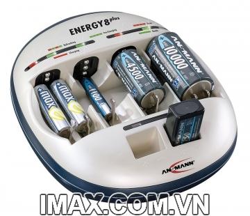 Bộ sạc Pin ENERGY 8 Plus ANSMANN