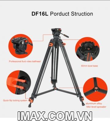 Chân máy quay Coman DF-16