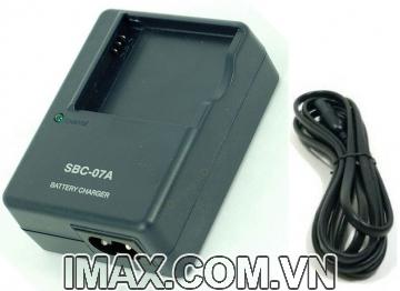 Sạc máy ảnh Samsung SBC-07A (cho pin Samsung SLB-07A ) - Hàng nhập khẩu