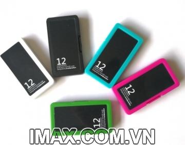 Hộp đựng thẻ nhớ Backpackers GX-6SD6TF, chứa 6SD, 6Micro