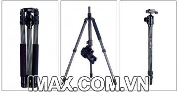 Chân máy ảnh Tripod/ Monopod Manbily CZ-308, Carbon