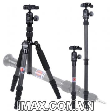Chân máy ảnh Tripod/ Monopod Manbily CZ-305, Carbon