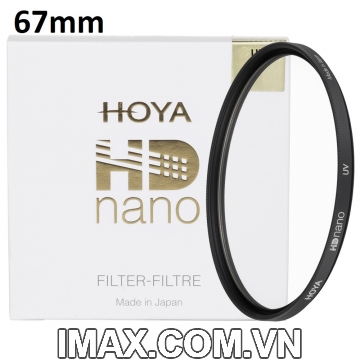 Kính lọc Filter Hoya HD Nano UV(HD3) 67mm