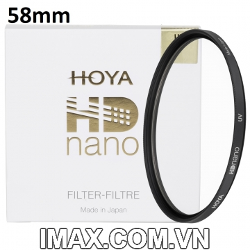Kính lọc Filter Hoya HD Nano UV(HD3) 58mm