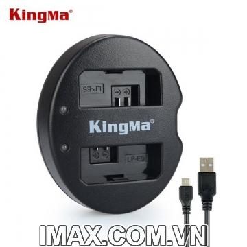Sạc đôi Kingma cho pin Canon LP-E5