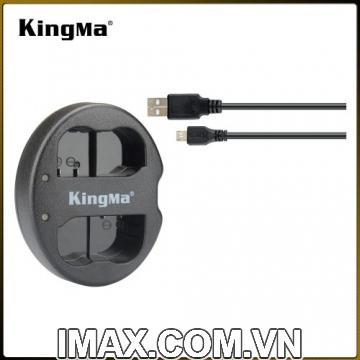 Sạc đôi Kingma cho pin Canon LP-E6