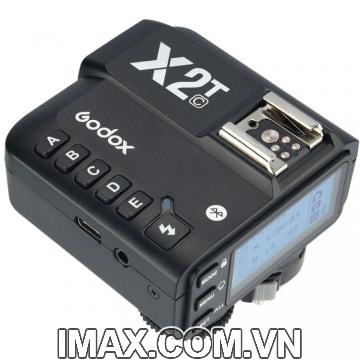 Điều khiển đèn Godox X2T-C-TTL 2.4G Wireless Flash Trigger cho Canon