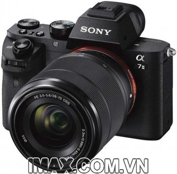Máy ảnh Sony Alpha A7M2 (ILCE7M2) + lens 28-70 mm + thẻ nhớ 64gb + Túi đeo chéo + Miếng dán màn.