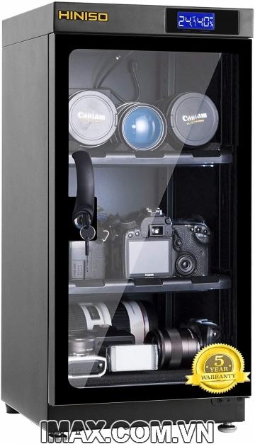 Tủ chống ẩm Hiniso AD-50C, 50 Lít, chỉnh ẩm trong
