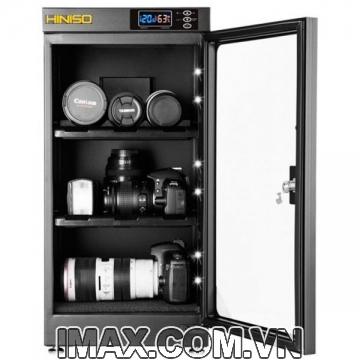 Tủ chống ẩm Hiniso AD-50S, 50 Lít, chỉnh ẩm ngoài