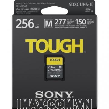 Thẻ nhớ Sony 256GB SDXC SF-M series TOUGH UHS-II 277/150MB/s