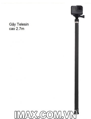 Gậy Telesin 2.7m, Carbon