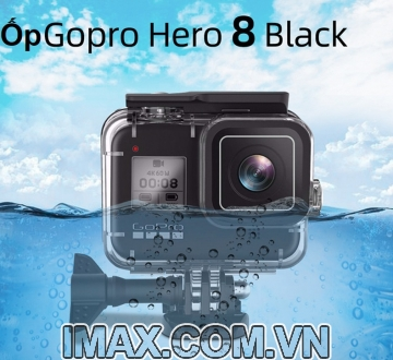 Ốp chống nước for Gopro Hero 8 Black