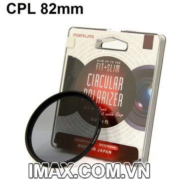 Filter Kính lọc Marumi Fit & Slim CPL 82mm