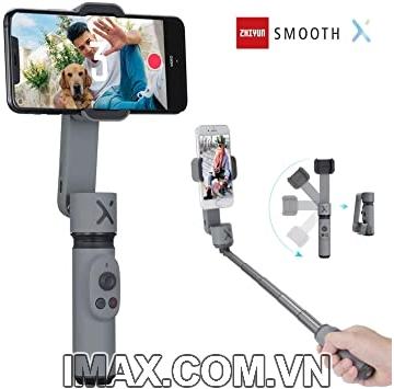 Zhiyun Smooth X- Tay cầm chống rung điện thoại - Hàng nhập khẩu