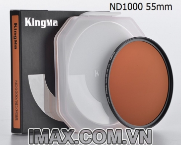 Kính lọc Kingma Pro MC ND1000 55mm, Giảm 10 Stop