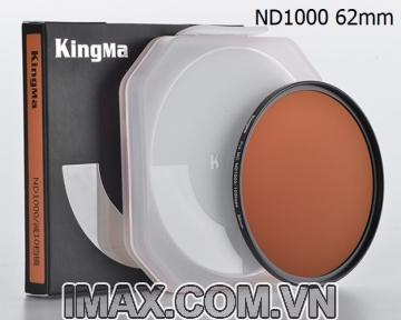 Kính lọc Kingma Pro MC ND1000 62mm, Giảm 10 Stop
