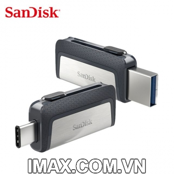 Sandisk USB 3.1 Type-C 128GB, 2 cổng: USB, Type C