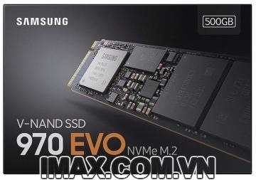 Ổ cứng 500GB SSD 970 EVO NVMe M.2