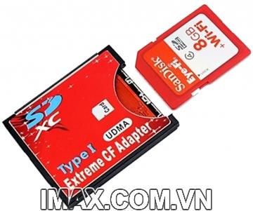 Adaptor chuyển từ SD wifi-CF, Sử dụng wifi cho máy dùng thẻ CF