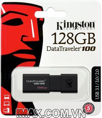 USB 3.0 Kingston DataTraveler 100 G3 128GB