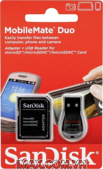 Đầu đọc thẻ Sandisk MobileMate Duo cho thẻ nhớ Micro SDDRK-121-B35
