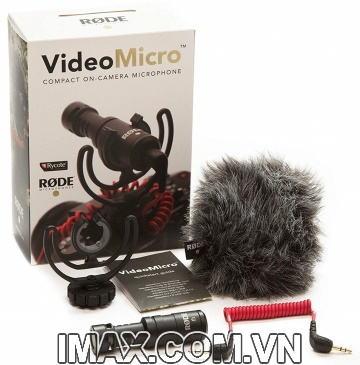 Mic thu âm RODE VideoMicro On-Camera