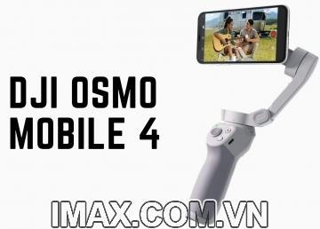 Thiết bị chống rung DJI Osmo Mobile 4 - Gimbal 3 trục cho điện  thoại - Hàng chính hãng