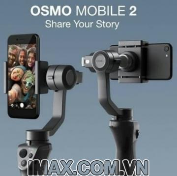 Thiết bị chống rung DJI Osmo Mobile 2 - Gimbal 3 trục cho điện  thoại - Hàng chính hãng