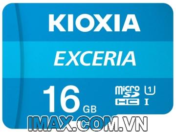 Thẻ nhớ MicroSD 16GB Kioxia Exceria 100/15 Mb/s