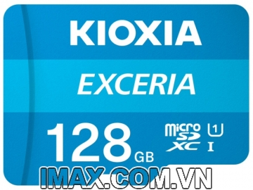 Thẻ nhớ MicroSD 128GB Kioxia Exceria 100/15 Mb/s