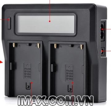 Sạc đôi Kingma BM021 dùng cho pin Sony NP-F570/770/970