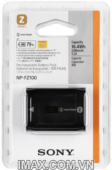 Pin máy ảnh Sony NP-FZ100, Pin Chính hãng
